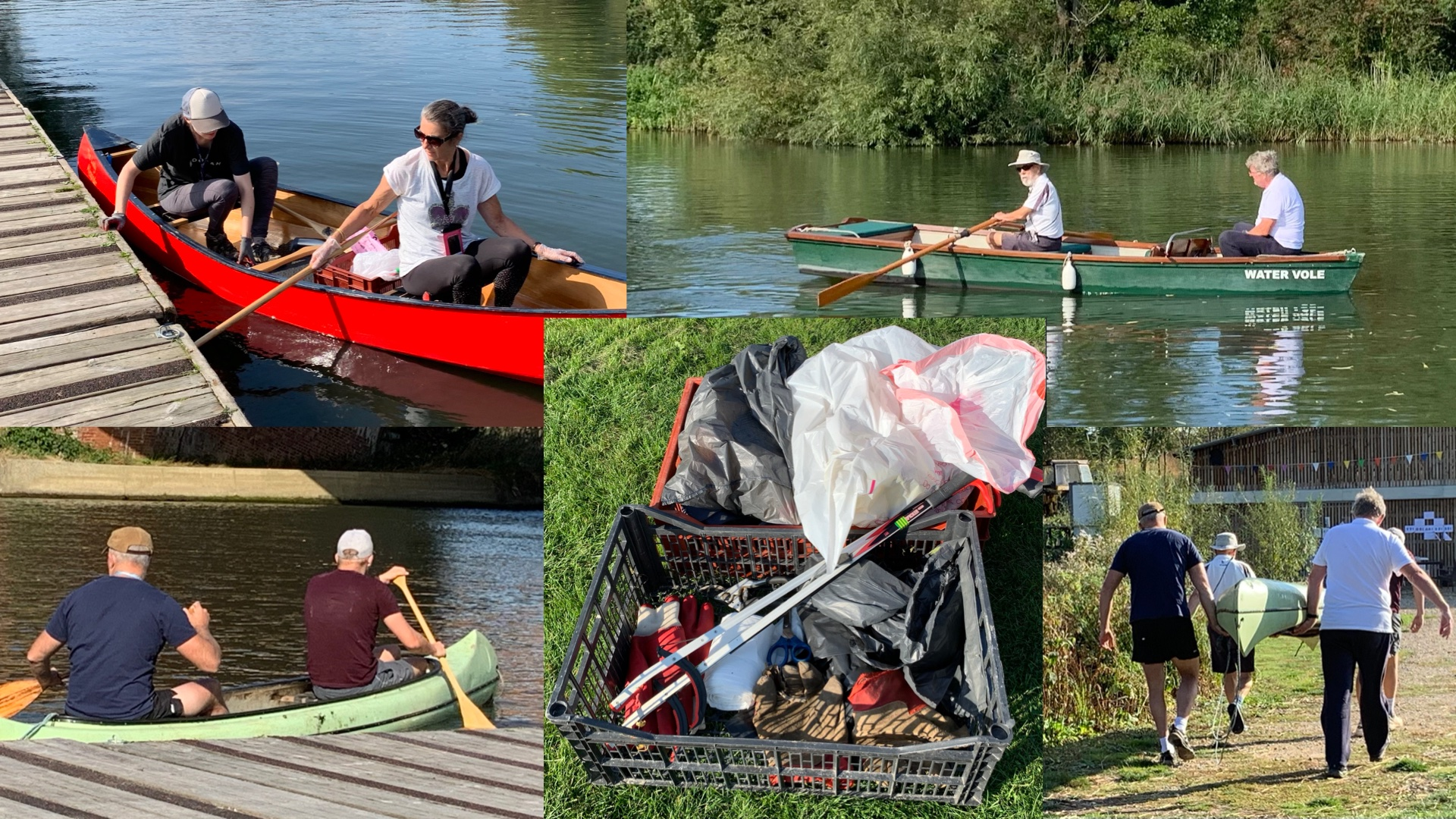 River cleaning expedition